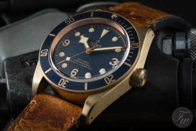 Tudor Heritage Black Bay Bronze Blue Bucherer