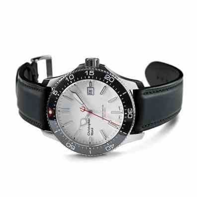 C60 TRIDENT PRO COSC LIMITED EDITION LEATHER £860 www.christopherward.co.uk 1