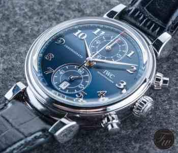 IWC Da Vinci Chronograph Laureus