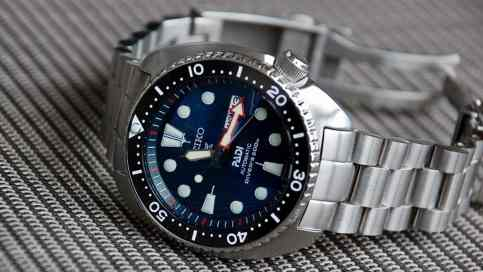 Seiko PADI with a custom ceramic insert