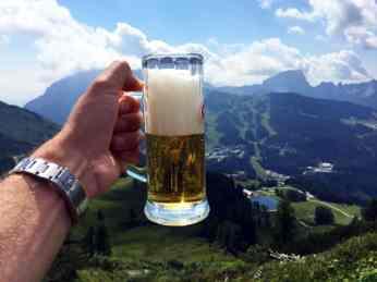 Rolex and beer!