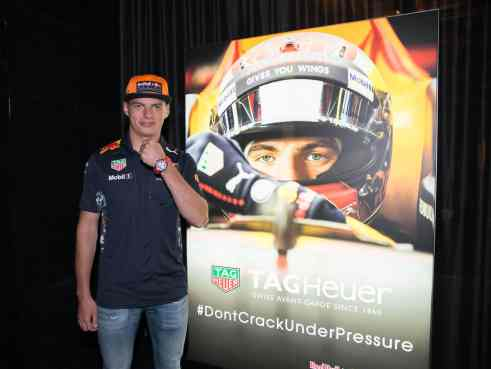 TAGHeuer_Max Verstappen and his new Special Edition (1)