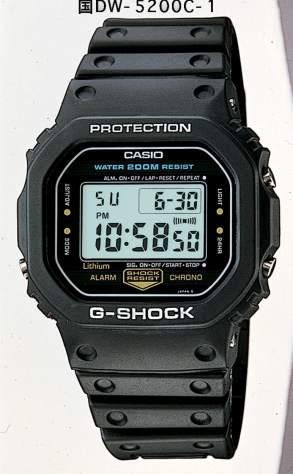 G-SHOCK DW-5200C