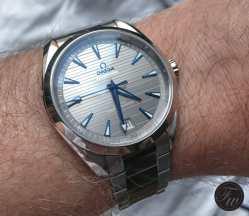 Seamaster Aqua Terra wristshot