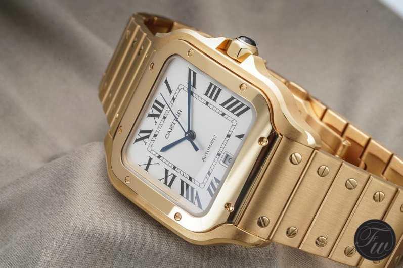 Cartier Santos YG.003