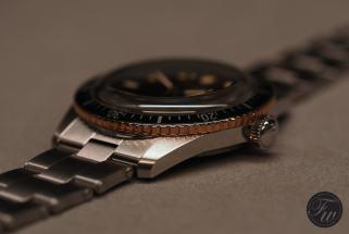 Oris Divers Sixty-Five Bronze Bezel
