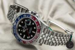 Stainless steel Rolex GMT-Master II 126710 Pepsi
