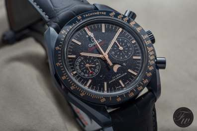Omega Speedmaster Blue Side of the Moon Moonphase Aventurine