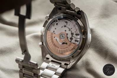 platinum Speedmaster caliber 9905