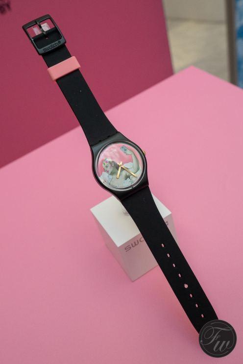 Swatch Pink & Versa GB310