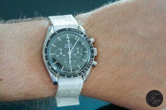 white Nasa watchband