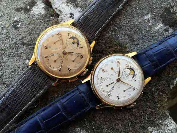 Datora Moonphase ref.799 from 1947 pair
