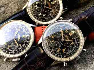 Navitimer Valjoux72 ref.806 from 1955 with group