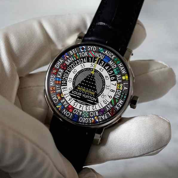 Louis Vuitton Escale Worldtime and Escale Timezone