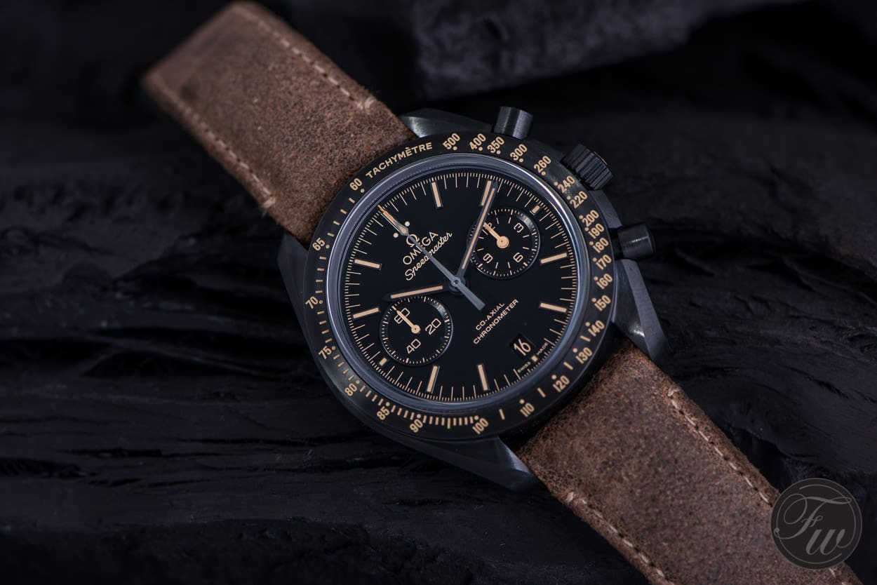 Omega Speedmaster Dark Side Of The Moon Vintage Black Review