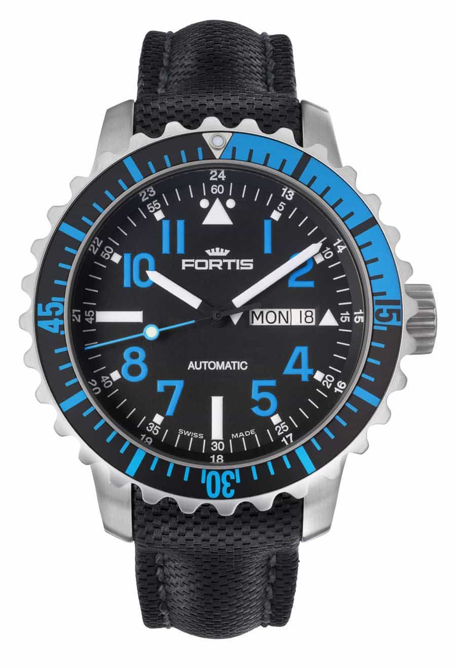 Diving Watches - Fortis B-42 Marinemaster Day/Date