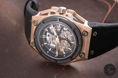Linde Werdelin SpidoLite in gold