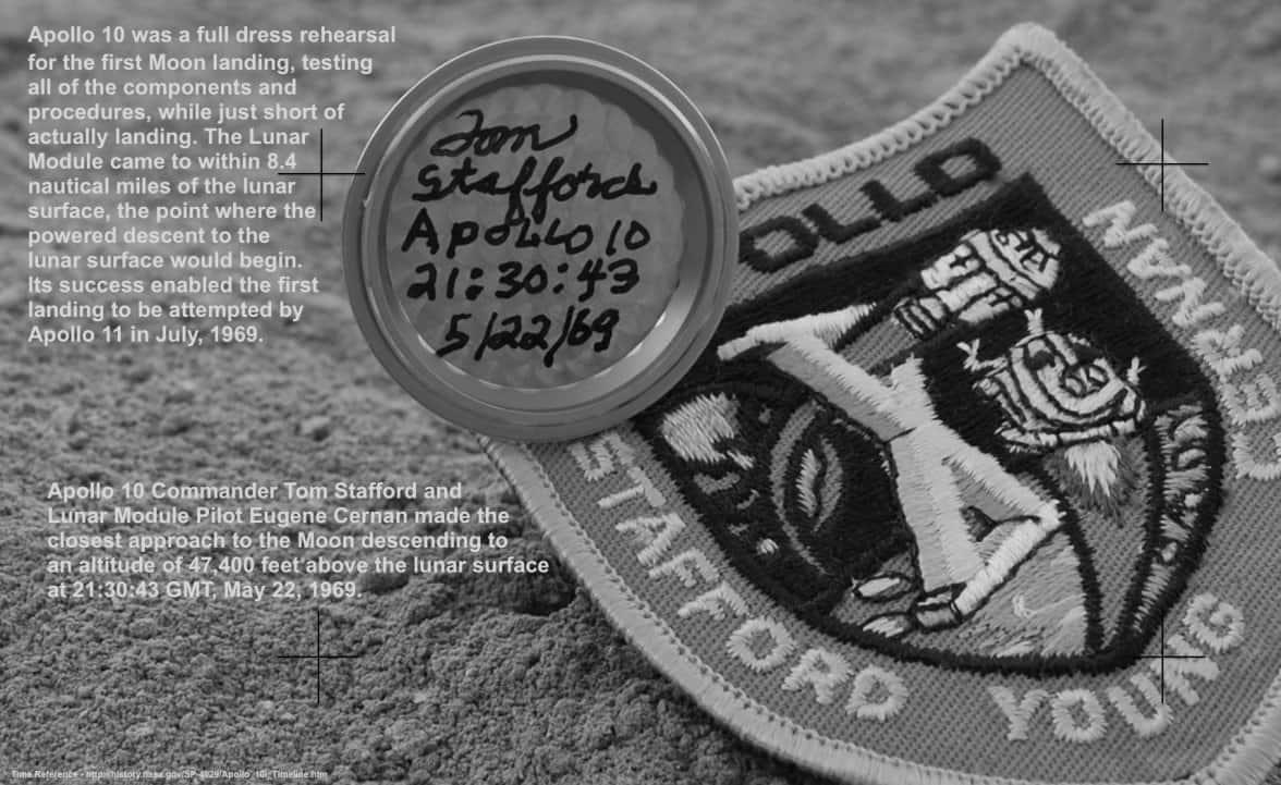 14 Signed Moonwatch Casebacks