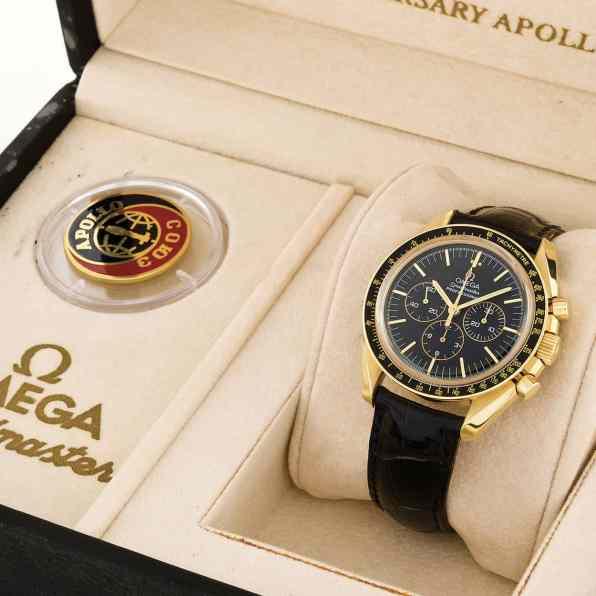 Gold Speedmaster Apollo - Soyuz 20th Anniversary