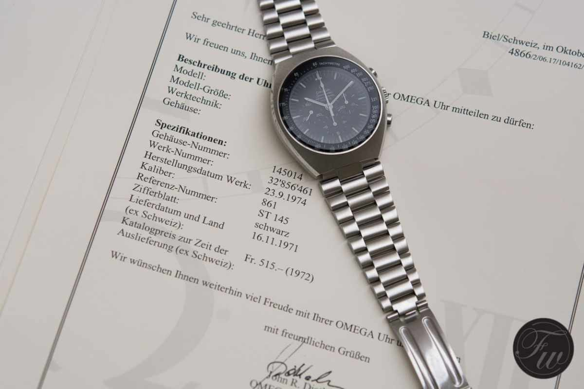 Omega Speedmaster Mark II 145.014