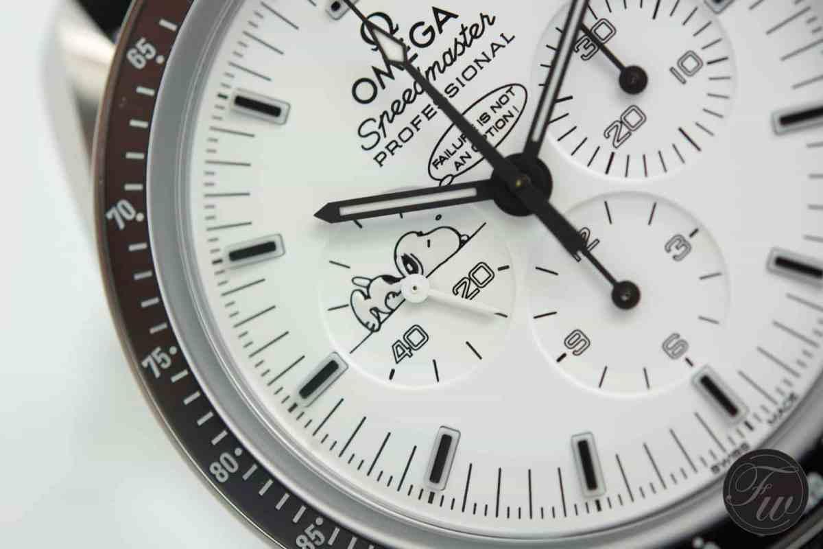 White Dial Speedmaster Apollo 13 Silver Snoopy Award