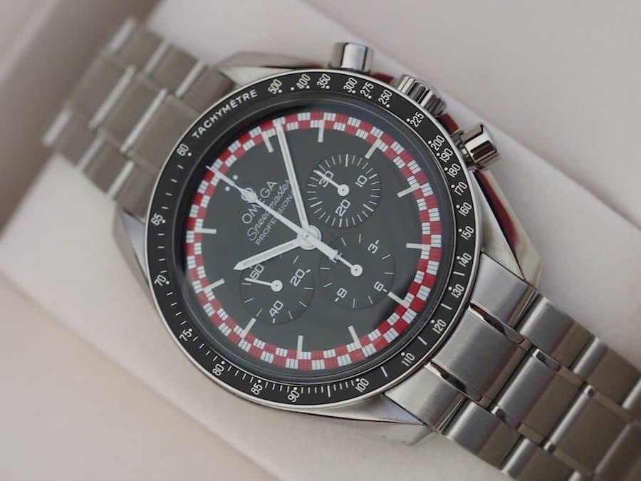 "Top 5 Omega Speedmaster Watches : Speedmaster Professional ""Tintin"" Reference 311.30.42.30.01.004"
