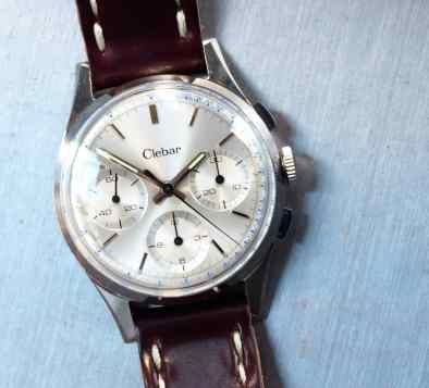 Clebar chronograph cover shot
