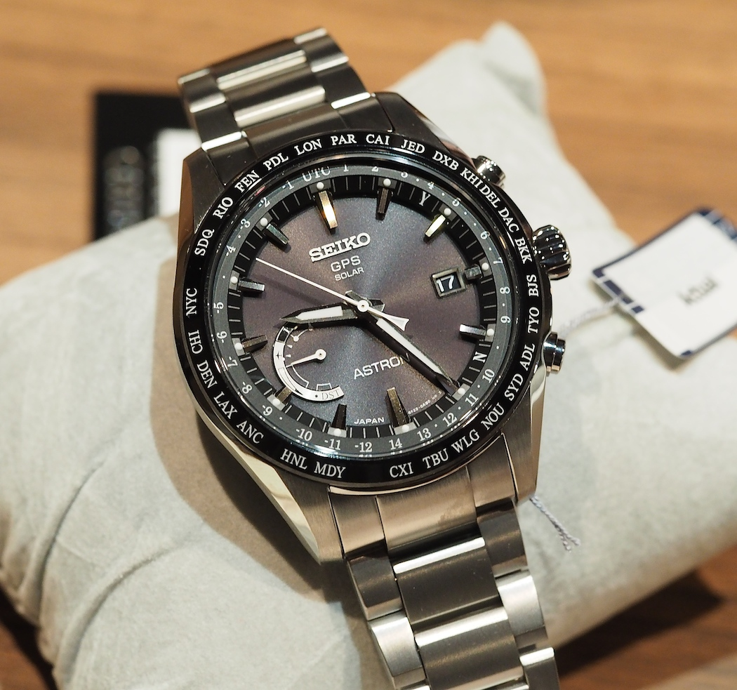 The new simplified and smaller Seiko (44.8mm) Astron GPS Solar