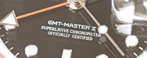 Rolex 16710 GMT-Master II dial font