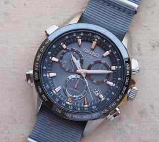 Seiko Astron upper left register