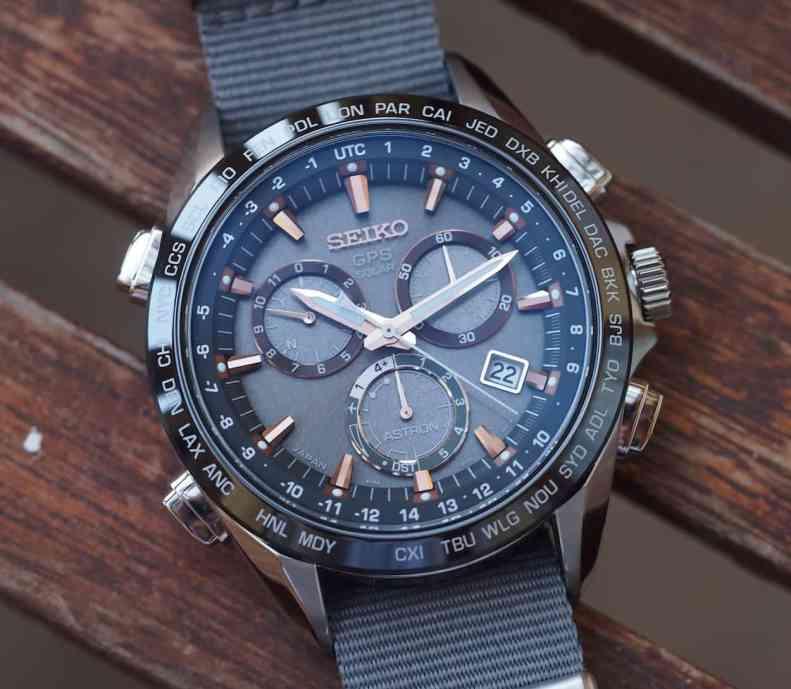 Seiko Astron opaque dial