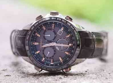 Seiko Astron integrated strap