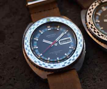 Seiko Rally Diver with faded bezel