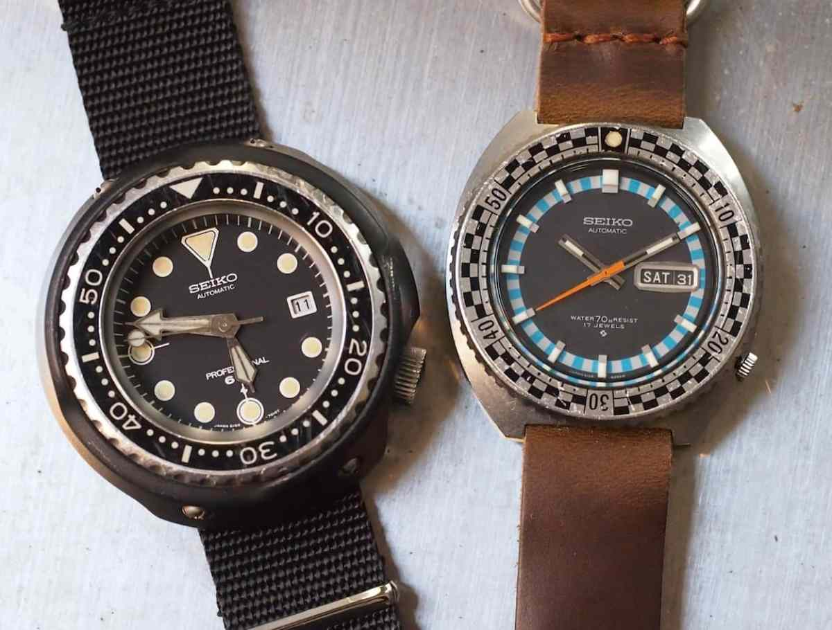 Seiko Rally Diver with Tuna
