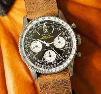 Breitling Navitimer 806 has loads of dial detail