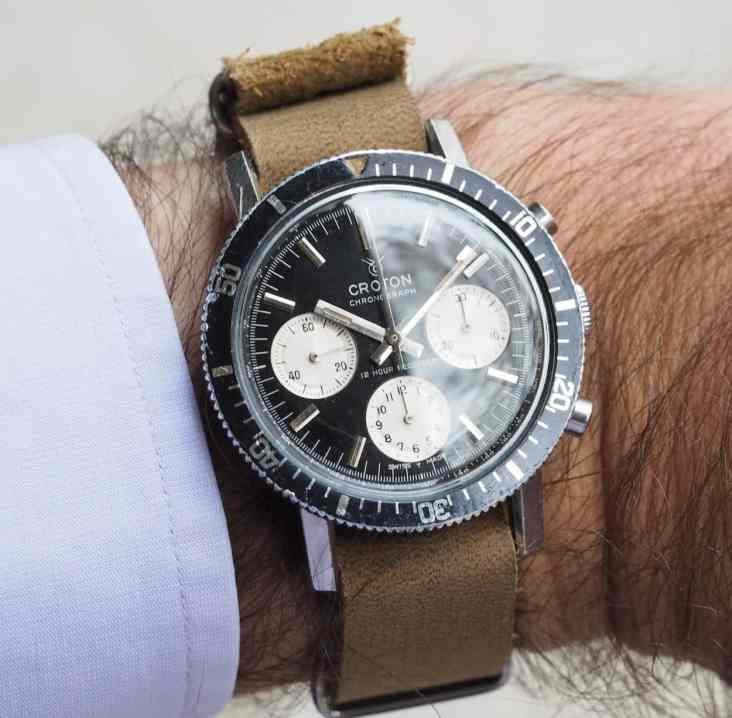 Croton Skymaster on the wrist