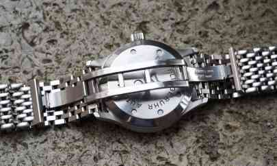 IWC Mark XII butterfly clasp