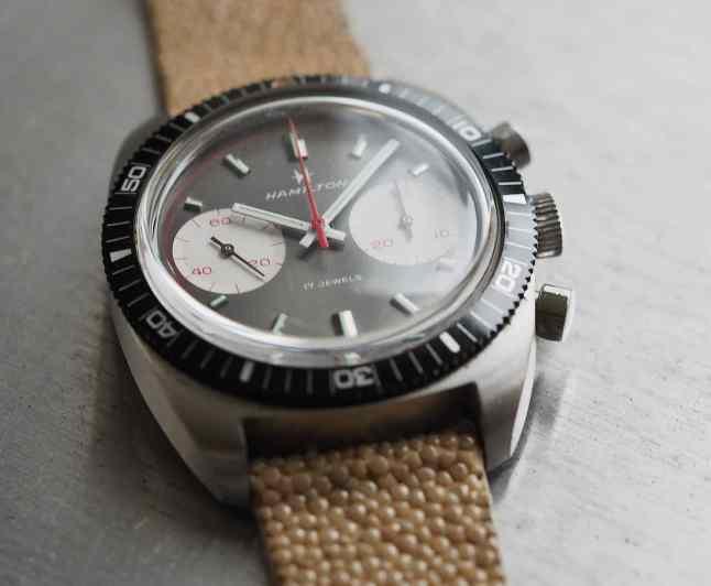 Hamilton Chrono-Diver well balanced