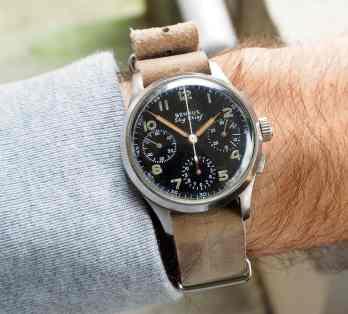 Benrus Sky Chief on the wrist