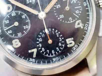 Benrus Sky Chief radium dial