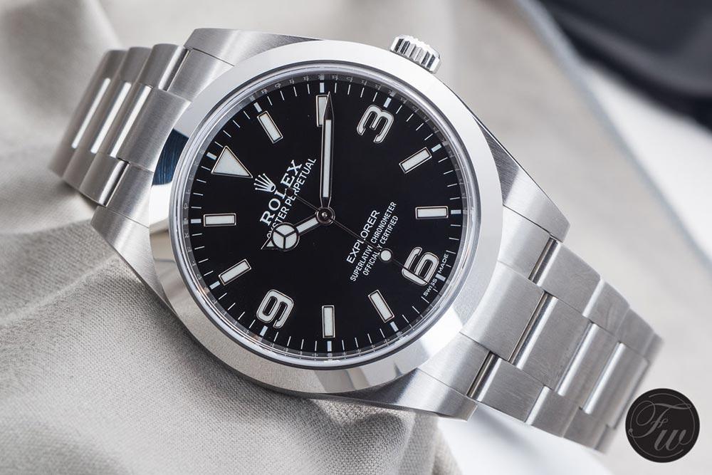 Rolex Explorer reference 214270 - BaselWorld 2016