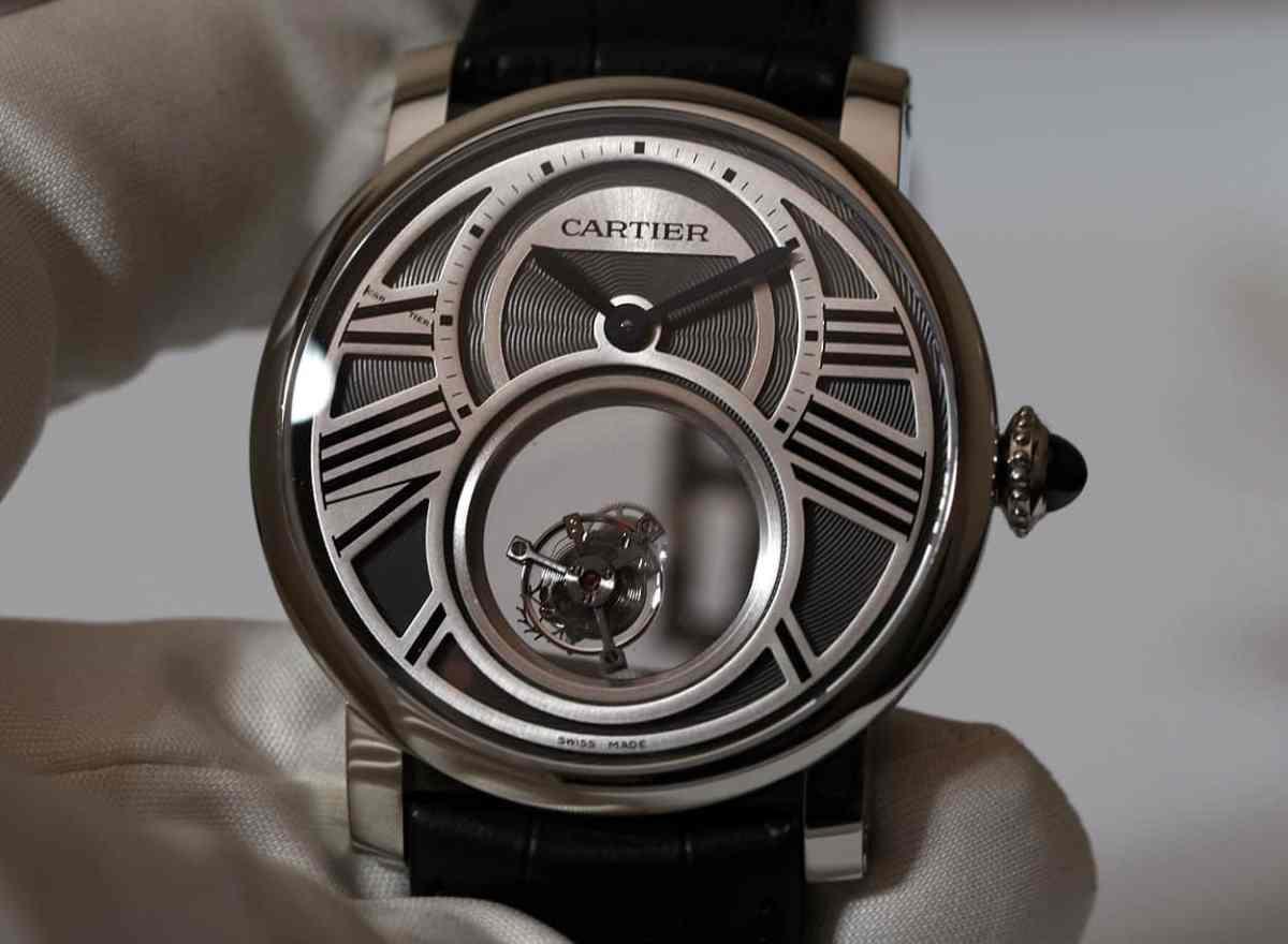 Cartier Rotonde Mysterieuse Tourbillon