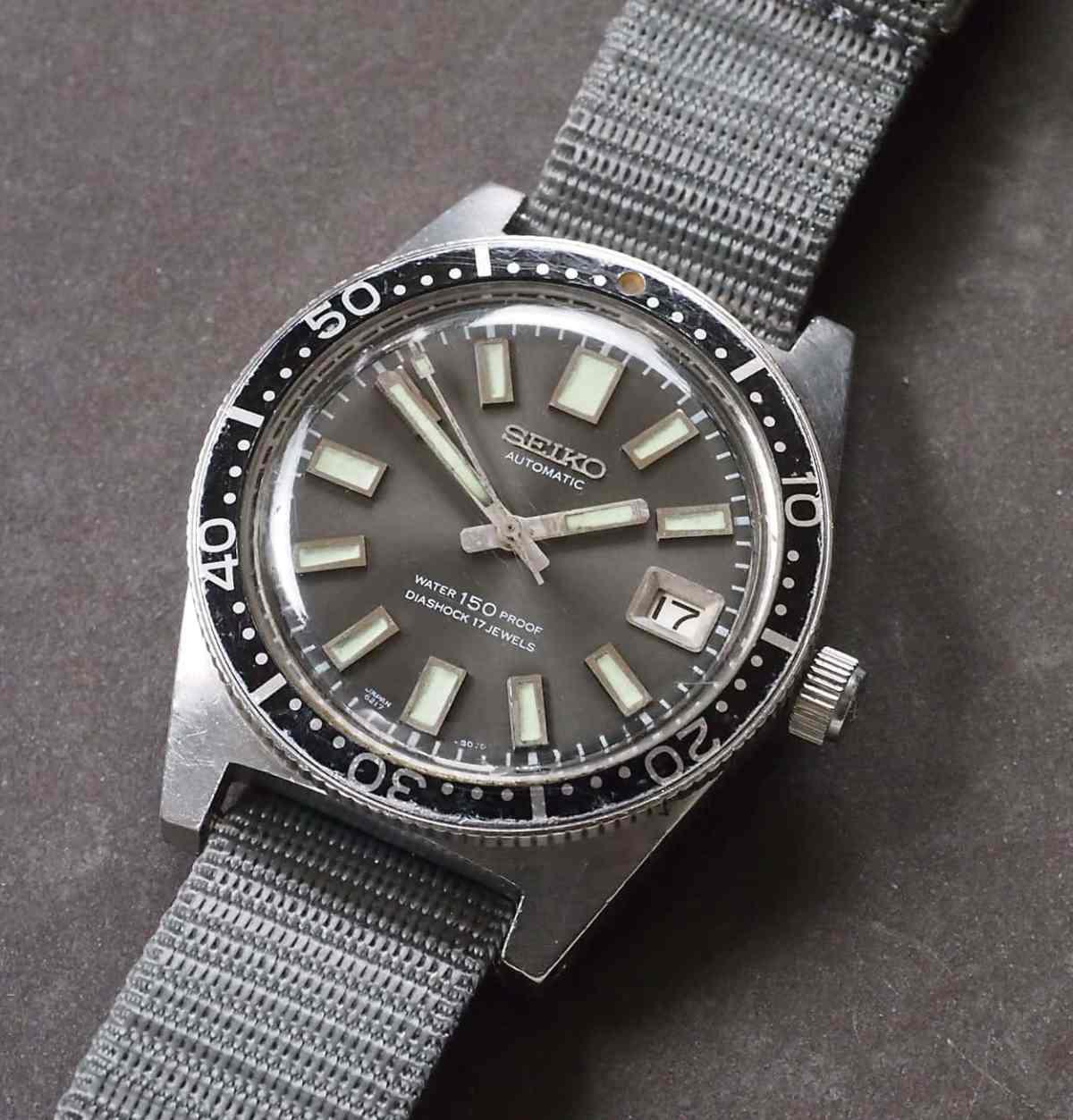 1965 Seiko 62MAS Diver, one of Mr. Hattori's favorite historic Seiko watches
