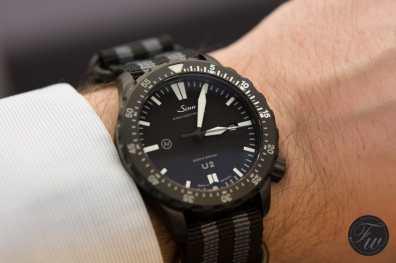 Sinn U2 C wristshot