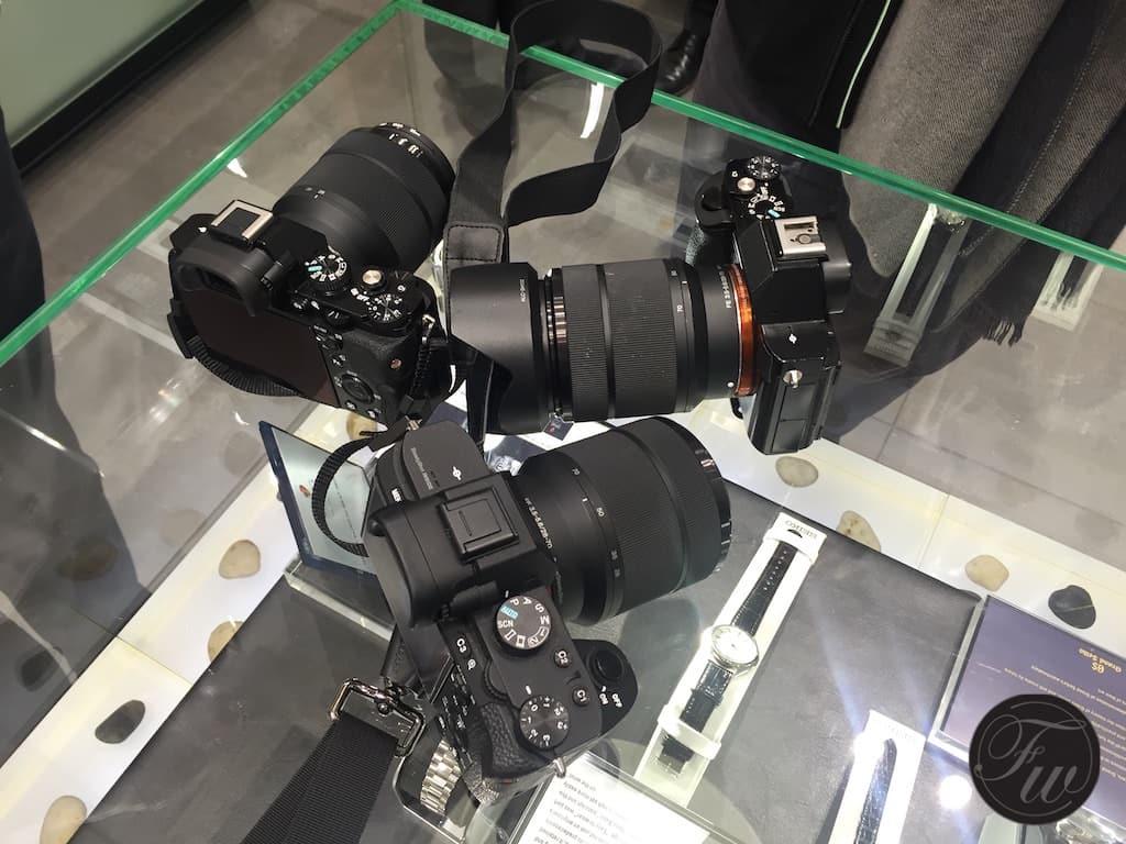 A trio of Gerard's cameras...