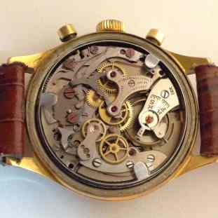 The Landeron 48 movement inside the Jardur 850 (Photo credit: eBay seller)