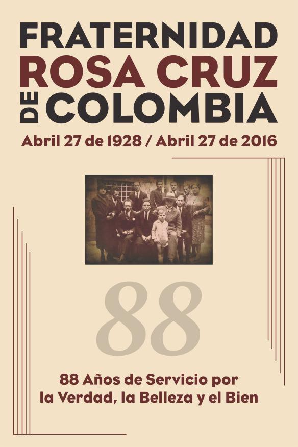 fraternidad rosa cruz de colombia 88 años