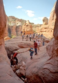 Fiery Furnace Tour Photo - Arches National Park - National ...