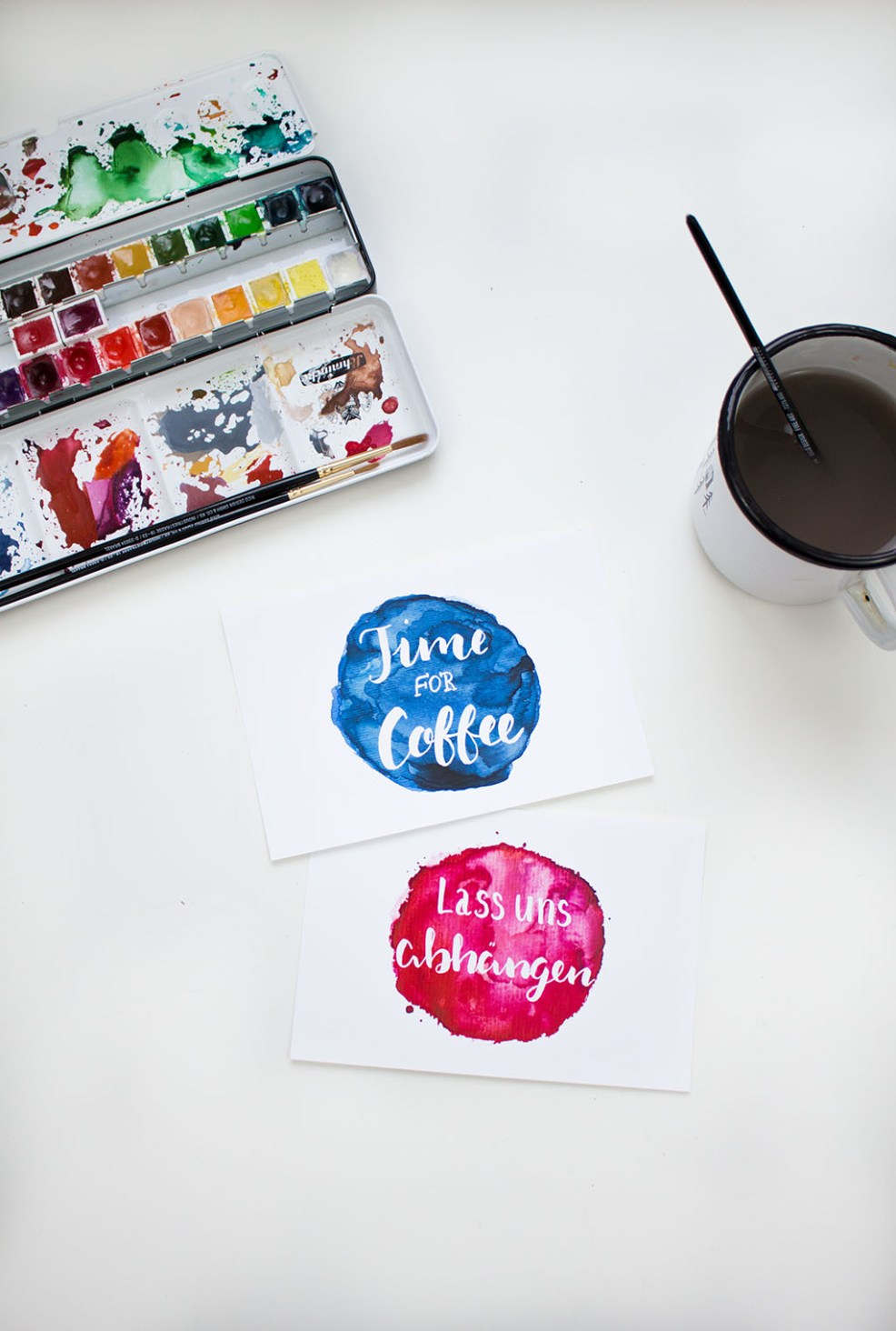 Frau Liebling - DIY Blog - Demo, Geschenke, Lettering, Illustrationen, Watercolour