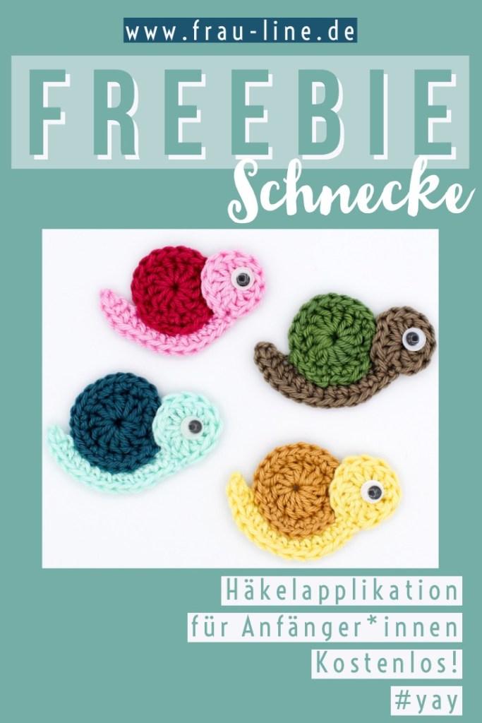 Kleine Schnecke Schlüsselanhänger Häkelanleitung - myPatterns.de | 1024x683